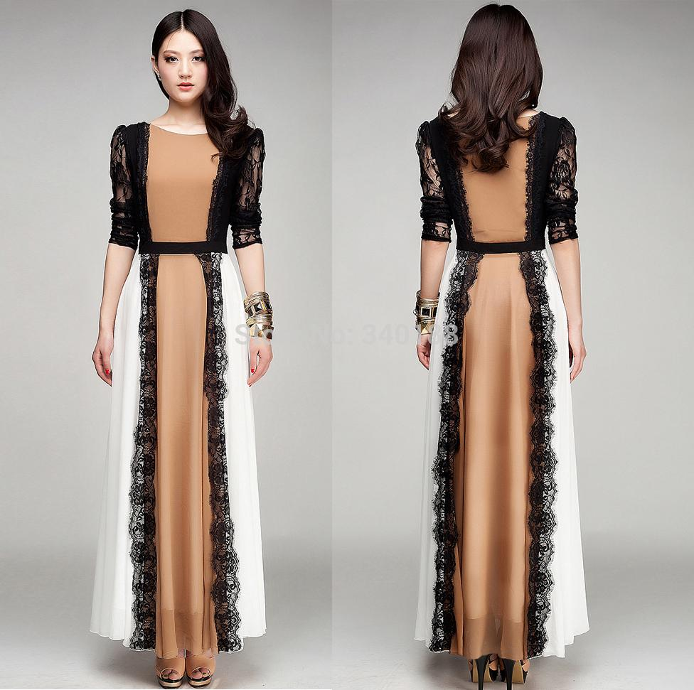 Full sleeves maxi dresses
