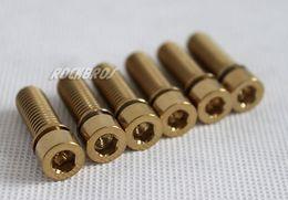 Wholesale Titanium Allen Head Bolts - Titanium Ti Allen Head bolt M8 x 25mm 6pcs
