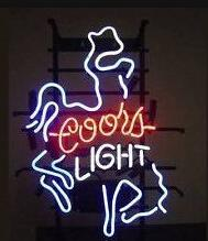 Coors Light Lighted Signs Canada - New Coors Light denim Handcrafted Neon Light Sign