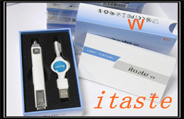 Wholesale Itaste Vv V3 - 2014100% Original Innokin Itaste VV V3 variable voltage voltage e cigarette Starter Kit Innokin Itaste VV 3.0 itaste vtr itaste mvp free DHL