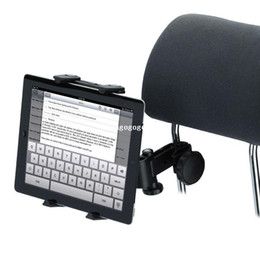 Wholesale Car Inch Gps Holder - Universal Car Auto Headrest Tablet Holder 360 Degree For iPad Epad Touch Pad 5-10 inches