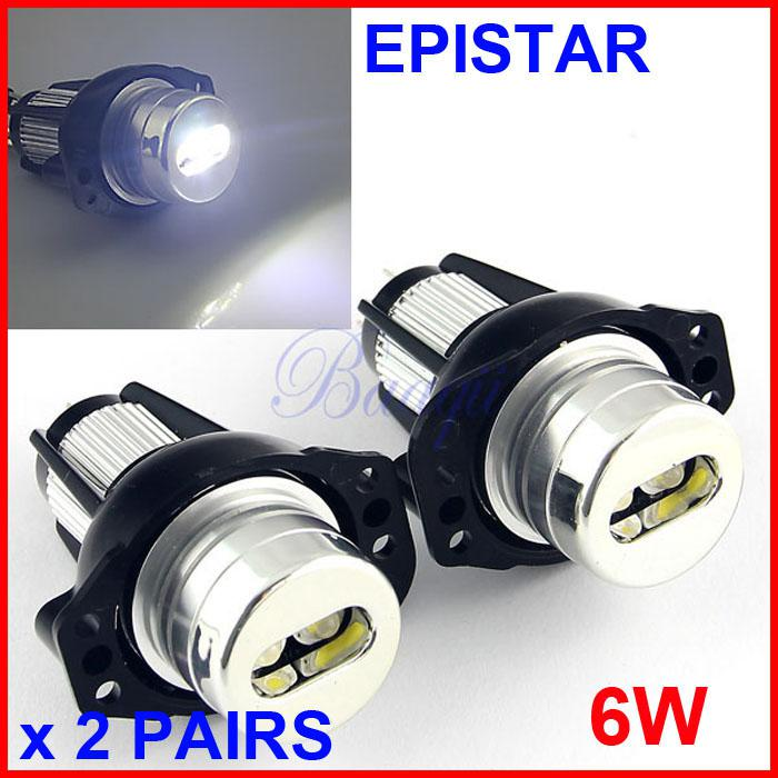 6K PAIR NUMBER PLATE BULBS LIGHTS LED WHITE XENON BMW 3 SERIES E91 CANBUS FREE