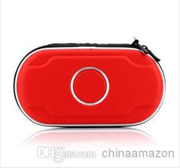 Wholesale Cases For Ps Vita - Hard EVA Protective Pouch Pocket Case Cover shell for Playstation Sony PSV PS Vita Red Bolsa de proteccao bolso da tampa do caso