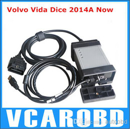 Wholesale Volvo Vida Dice Scanner - New Arrival For VOLVO DICE Tool Professinal Universal Diagnostic Tool Auto Scanner 2014A for Volvo Vida Dice with 3 year Warranty