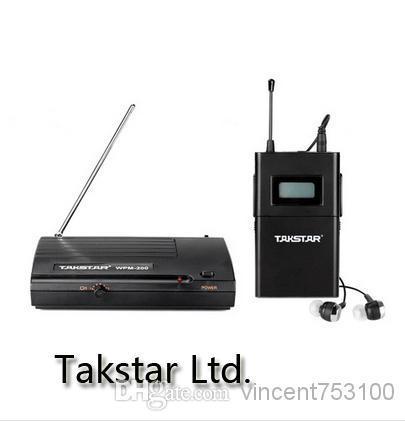 Hoogwaardige WPM-200 Wireless Monitor System Draadloze Familie Fun TV Entertainment Hoofdtelefoon Gratis verzending