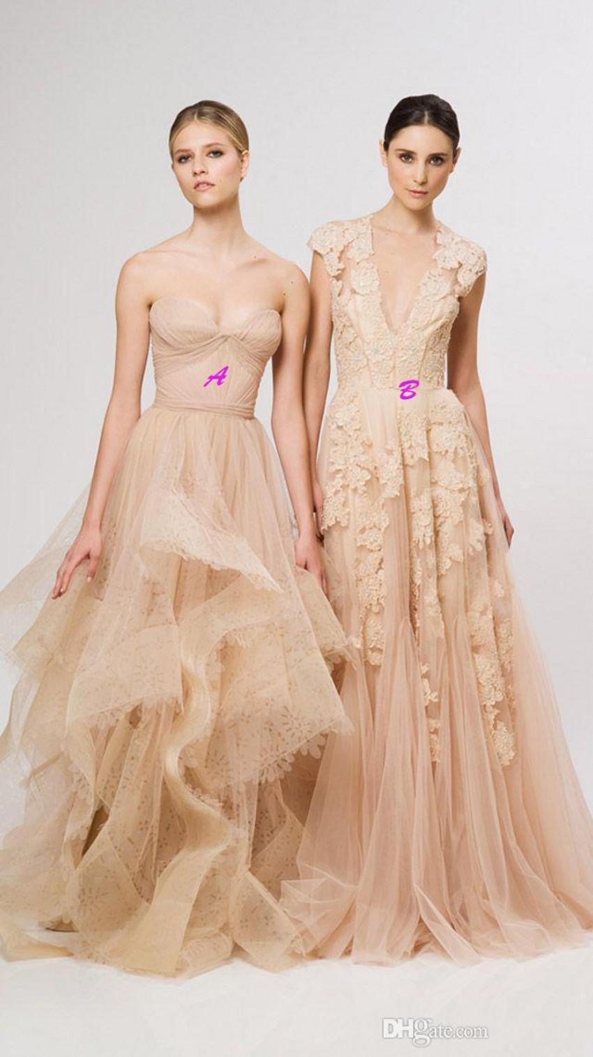 Vintage Lace Wedding Dresses Blush Pink Sweetheart Ruffles Bridal ...