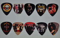 Lot de 100 Pcs Guns and Roses GnR 2 côtés, guitare, choix, Plectrums