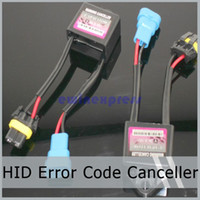 Wholesale Toyota Accessories Free Shipping - 10X hot sale HID Error Code Warning Canceller Headlight Capacitor For Kit Xenon Plug  Play Free Shipping