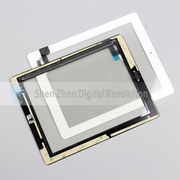 Wholesale Adhesive Sticker For Ipad2 - Free Shipping By DHLFor iPad 2 Touch Screen Glass Complete Assembly With Home Button & Adhesive Glue Sticker A1395 A1396 A1397