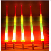 Wholesale Small Fan Led Lights - LED Light Sticks Retractable Sticks Telescopic Four Sticks Luminous Sticks Large Small LED Cheer Props Concerts Festivals Fans Cheer Items