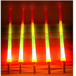 Wholesale Telescopic Light Stick - LED Light Sticks Retractable Sticks Telescopic Four Sticks Luminous Sticks Large Small LED Cheer Props Concerts Festivals Fans Cheer Items