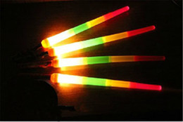 Wholesale Wholesale Lighted Kids Swords - Telescopic LED Glow Stick Flash LED Light Stick Fluorescent Sword Luminous Sticks LED Cheer Props Festivals Christmas Carnival Concerts Toys