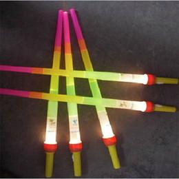 fluorescent toys wholesale 2019 - New Arrival LED Sticks Flash Sticks Fluorescent LED Light Sword Luminous Sticks LED Cheer Props Festivals Christmas Carn
