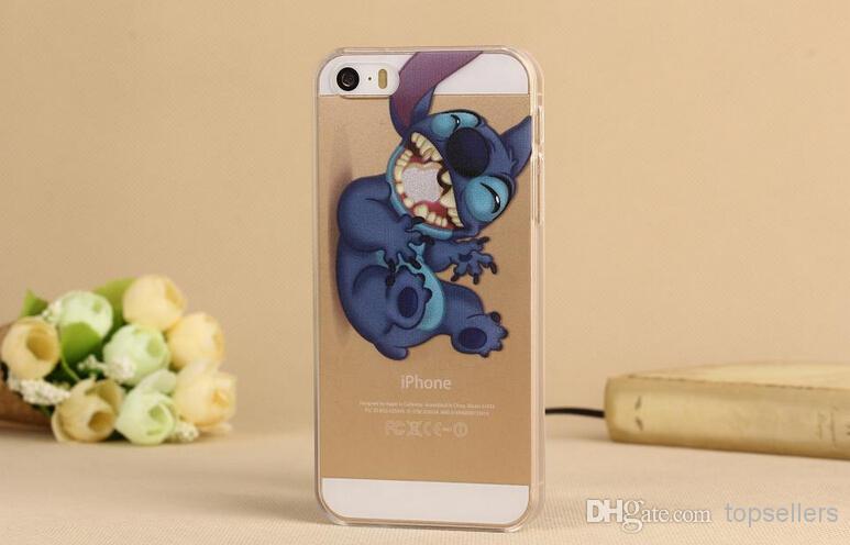 Pour IPhone 4 4S 5 5S Stitch Spiderman Logo Clear Transparent Hard Case Proposé Par Topsellers, 0,61 €   Fr.Dhgate.Com