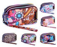 Wholesale Leopard Style Clutch - New 2014 Brand VIVISECRET Women Wristlet Handbag Pencil Case Printing Clutch Coin Purse Wallets Women Bolsas Cell phone Bag