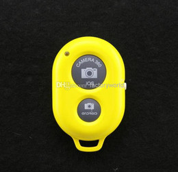 Wholesale Photo Wireless - Dropship Bluetooth Remote photo Camera Control Wireless Self-timer Shutter for iPhone6 6 Iphone 4 5s 6 Galaxy s6 edgae