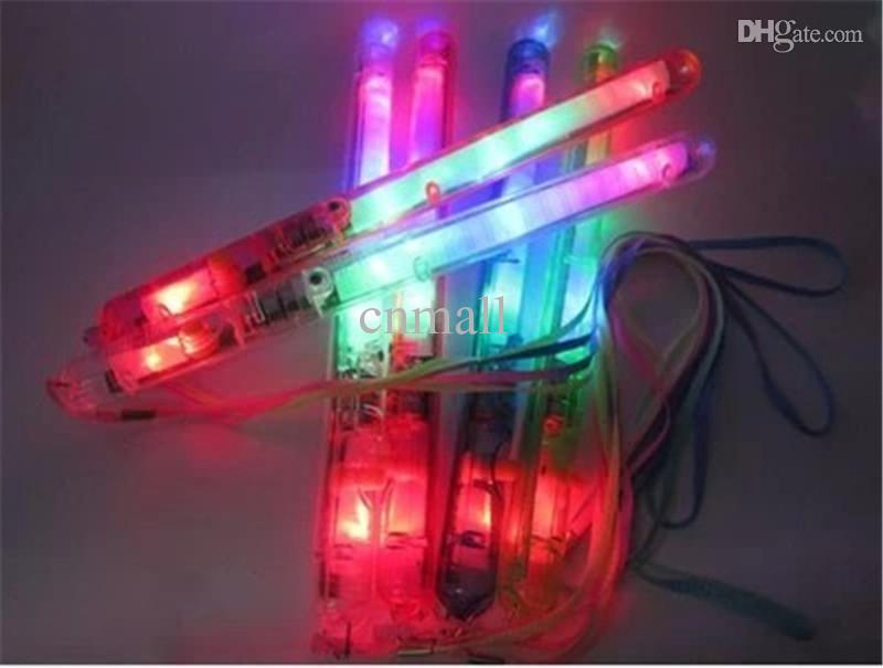 Hot LED Light Sticks LED Flashing Light Colorful Sticks Glow Stick Halloween Party Accessory Christmas Toy Flashing Concerts LED Cheer Props