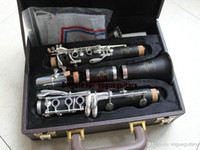 Wholesale Case Bb - New Fashion Musical Instruments New Arrival Buffet Bb R13 Clarinet With Case free shipping