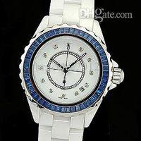 precio de relojes de cermica azul de mujer de lujo seora moda hembra