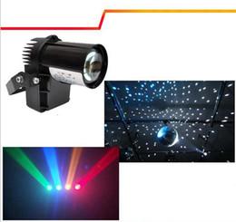 Wholesale Dj Cover - 10W RGBW Cree lamp 4in1 LED Pinspot Light DMX 512 control LED Rain stage light KTV DJ Club Party light Black White cover