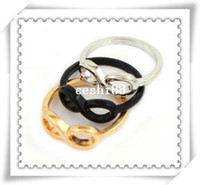 Wholesale Infinity Symbol Rings - New Fashion jewelry Infinity symbol finger ring mix color wholesale R495