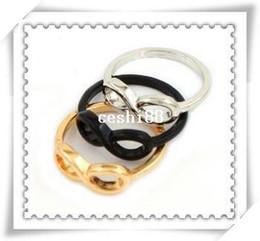 Canada Nouveaux bijoux de mode symbole de l'infini anneau de doigt mélange de couleur en gros R495 cheap infinity symbol jewelry wholesale Offre