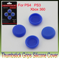 Wholesale Free Xbox Covers - Hot Sale Gift Thumbstick Grips Silicone Cover for PS4 PS3 Xbox 360 Game Controller Pick Free Shipping