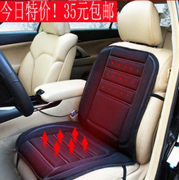 Wholesale Heating Seats - Car heated cushion electric heating pad winter car seat car seat cushion auto supplies
