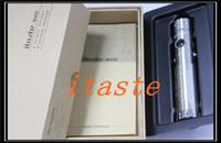 Wholesale Itaste Svd Vv Vw - Itaste SVD e cigarette mods VV VW mod Telescopic Tube Mechanical Mod Free shipping
