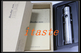 Wholesale Itaste Svd E Cigarette - Itaste SVD e cigarette mods VV VW mod Telescopic Tube Mechanical Mod Free shipping