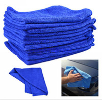 Wholesale car care wholesale - 50X Microfiber Towel Car Cleaning Wash Clean Cloth Free Shipping car clean towel Car Care Hot