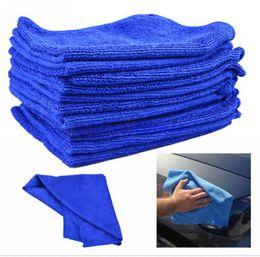 Wholesale Clean Microfiber - 50X Microfiber Towel Car Cleaning Wash Clean Cloth Free Shipping car clean towel Car Care Hot