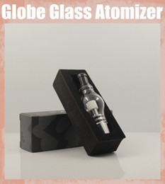 Bulbo vaporizador de hierba seca online-Bombilla eGo Clearomizer Globe Glass Núcleo reemplazable para eGo t Batería E Cigarrillos E Cig Clear Cartomizer Dry Herb Wax Vaporizer ATB002