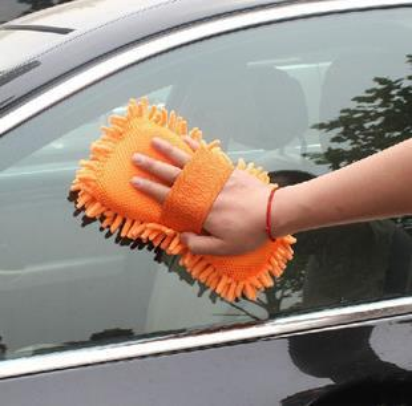 Caliente nueva fibra Ultrafino Chenille Anthozoan Car Wash guantes arandela del coche suministros, accesorios para automóviles