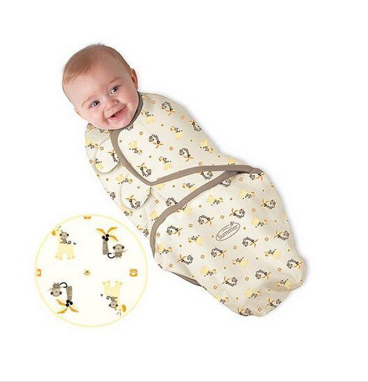 best selling Hot Sale Summer swaddleme Baby Sleeping bags baby sleepsacks wraps Infant Baby Swaddling Sleep Bag Infant Cotton Wrap Bags Melee