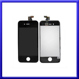 $enCountryForm.capitalKeyWord Canada - Top selling-Front Assembly iphone 4 LCD Display Touch Screen Digitizer Replacement Part for iphone 4 4G 4S with Black White Color