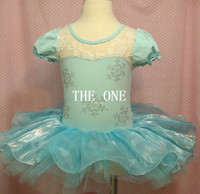 Wholesale Silk Tutu Ballet - kids dance dress children frozen ballet dress girl ballet dance wear Elsa Anna tutu dress Leotard Stage costumes dress baby new arrival 2014