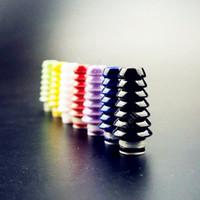 mod ce4 atomizer toptan satış-Sıcak satış seramik ağızlıklar 8 türleri renkli seramik damla ucu veya e Sigara Protank CE4 CE5 MT3 vivi nova cam mods atomizörler