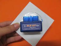 Super mini elm327 bluetooth obd2 com software v2.1 obd ii funciona no Android auto scanner