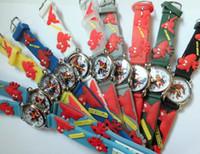 Wholesale Cheap Christmas Watches - Wholesales-Christmas gift Watches Spider man 3D Mixed Cheap Wholesale! 10pcs lot Children watch cartoons Quartz