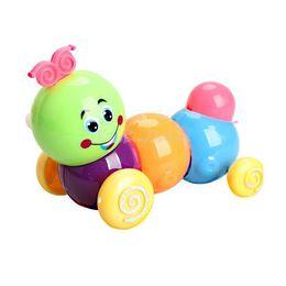 Wholesale Doll Wind Up Toy - OP-Cute Wind up Carpenterworm Cutworm Clockwork Spring Bug Children Toy NIVE