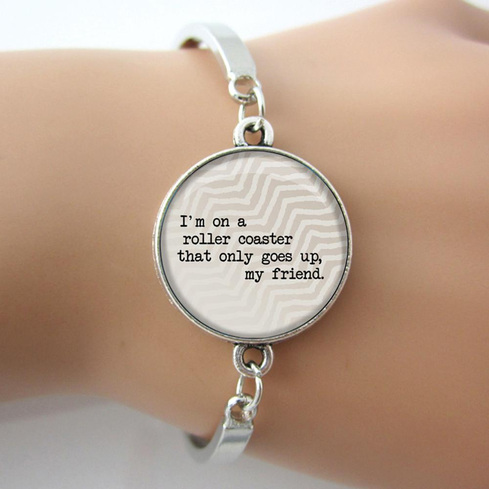 Rollercoaster quote braceletthe fault in our stars john green rollercoaster quote braceletthe fault in our stars john green book quote charm bracelet2014 faith jewelry for gift 2018 from lele68 1086 dhgate negle Image collections