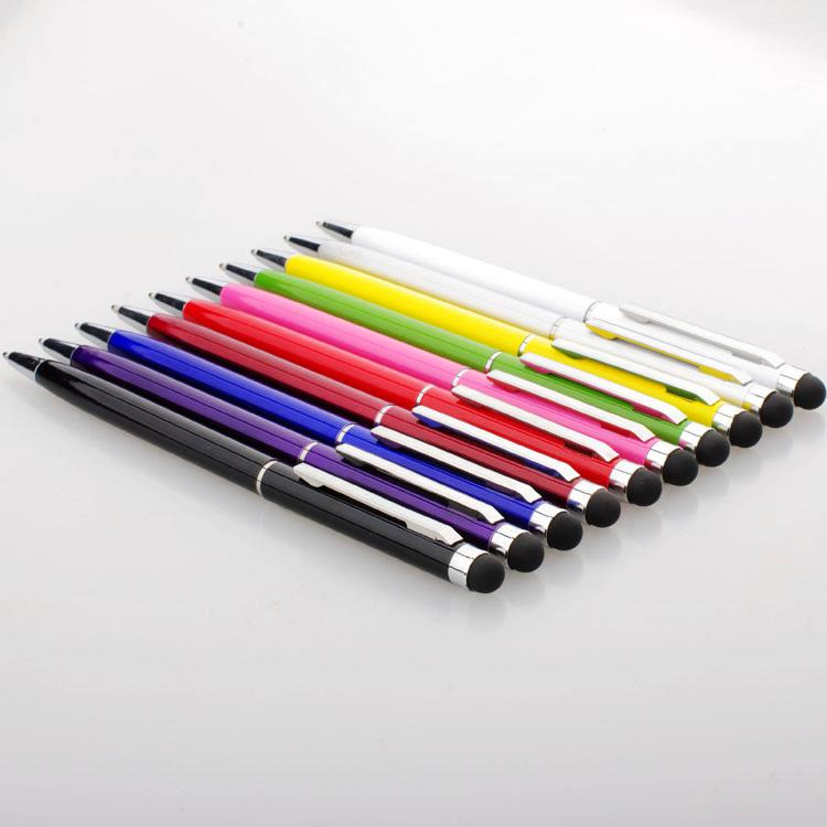 2 in 1 Muti-fuction Capacitive Touch Screen & Writing Stylus and Ball Point Pen for all Smart CellPhone Tablet