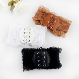 Wholesale Decoration For Belts - Latest Design Fashion Belts Accessories Lace Elastic Waistband Belt Cummerbund Decoration All-match Female Wide Belt For Women