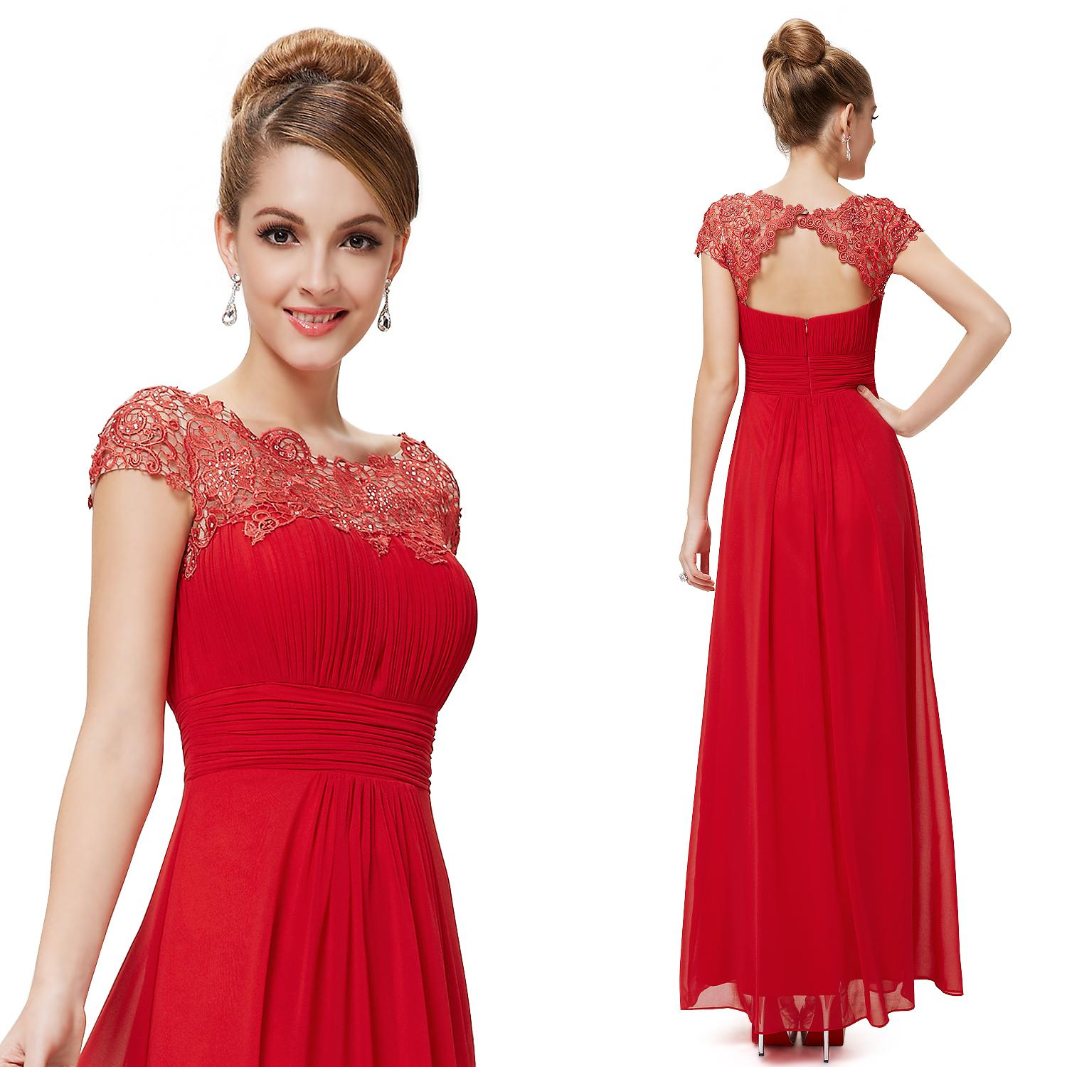 Lacey Chiffon Prom Dress He09993 Ever Pretty 2014 New Arrival Black ...