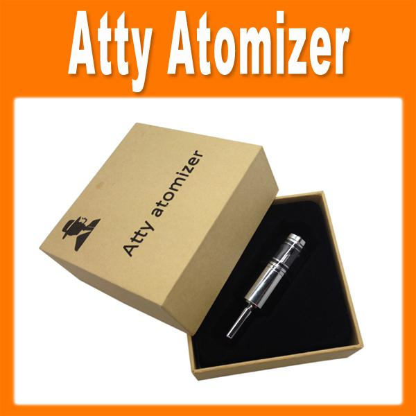 Atty Atomizer Adjustable Air Flow Rocket Rebuildable Clearomizer Oil Wax Cartomizer for EGO Battery E Cigarette 0203118