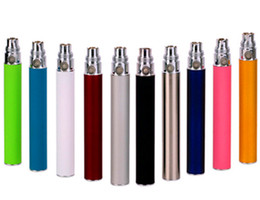 Wholesale Ego T Ce6 - EGO Battery for Electronic Cigarette E-cig Ego-T 510 Thread match CE4 atomizer CE5 clearomizer CE6 650mah 900mah 1100mah Colorful EGO batter