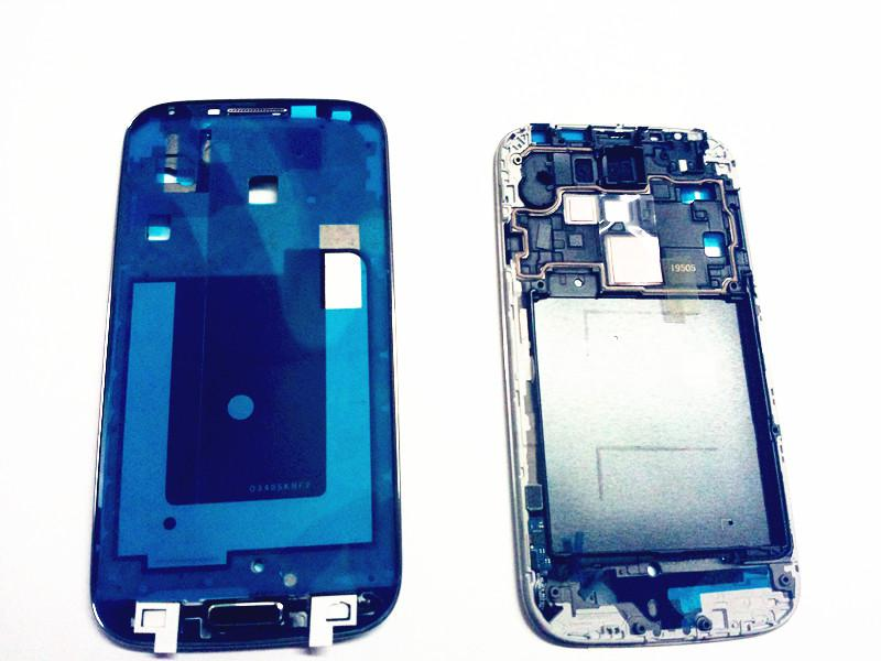 For Samsung Galaxy S4 3G 4G i9500 I9505 I337 Middle mid Frame front Plate Bezel Chassis Housing with home button flex cable