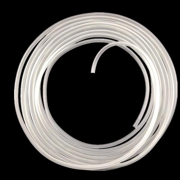 best selling 10M 4*6mm Transparent silicone hoses Oxygen pump oxygen pump oxygen tube plumbing hose silicone hose Free Shipping