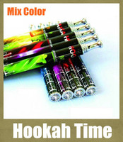 Discount hookah brands - New Style Colorful Brand Disposable Smoke Time 800 Puffs Hookah Pen Crystal Tip High Quality E Cigarette With Retail Box HK002